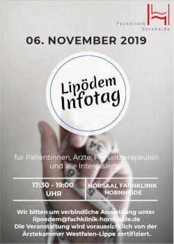 Einladung zum Lipödem Infotag